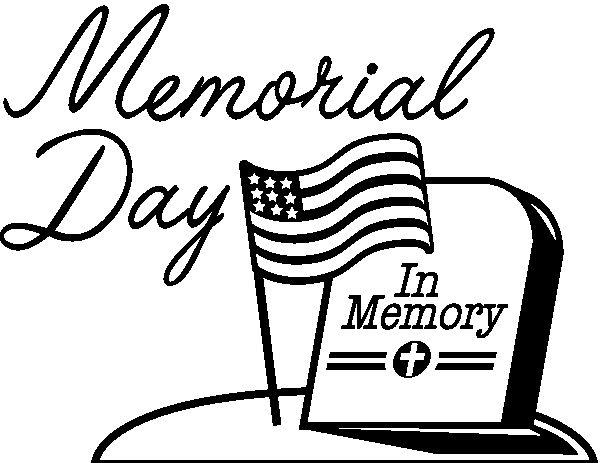 Memories clipart remembered. Memorial day clip art