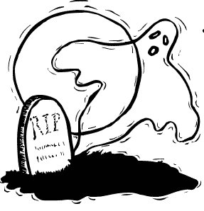 Graveyard clipart.  collection of haunted