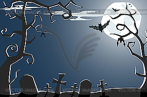 Cemetery clipart scary. Night color panda free
