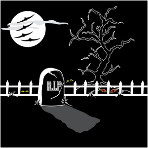 Cemetery clipart scary. Free image halloween creepy