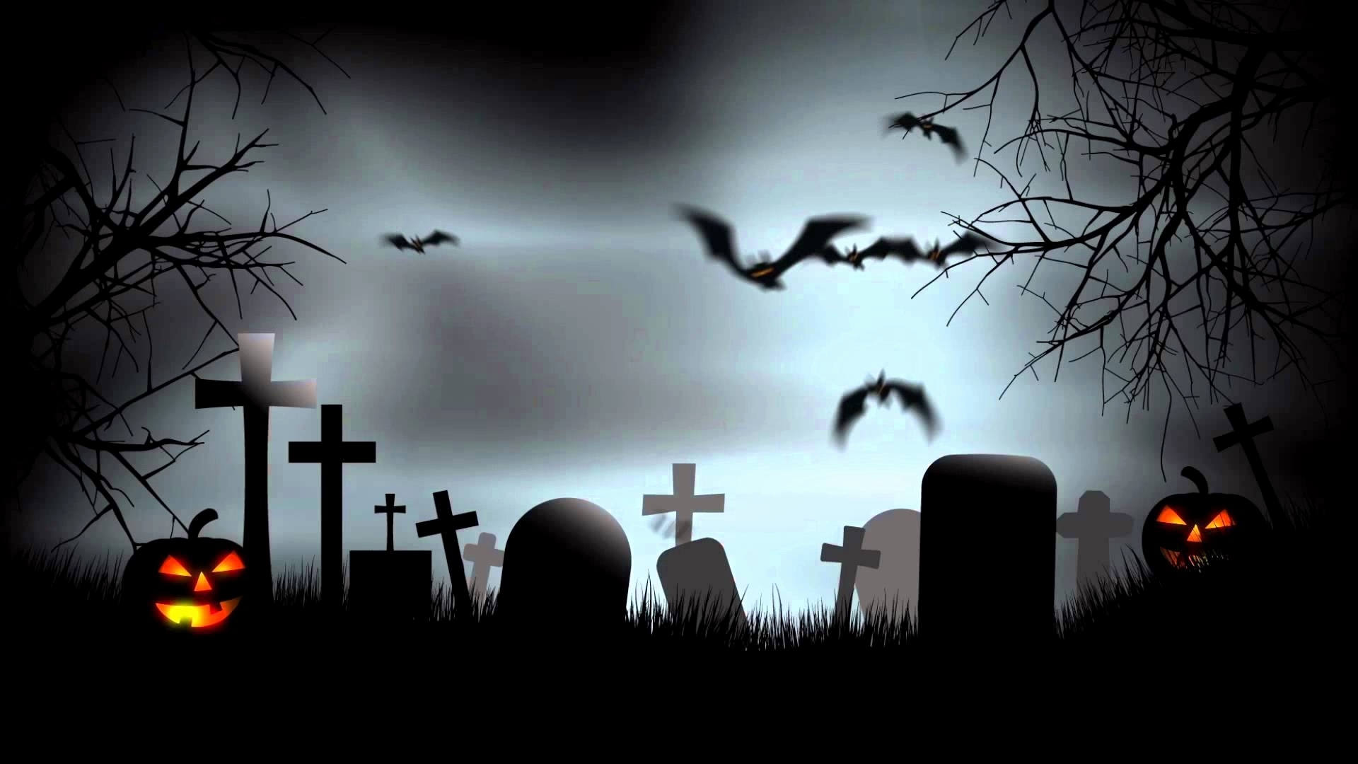 Powerpoint templates elegant spooky. Cemetery clipart scary
