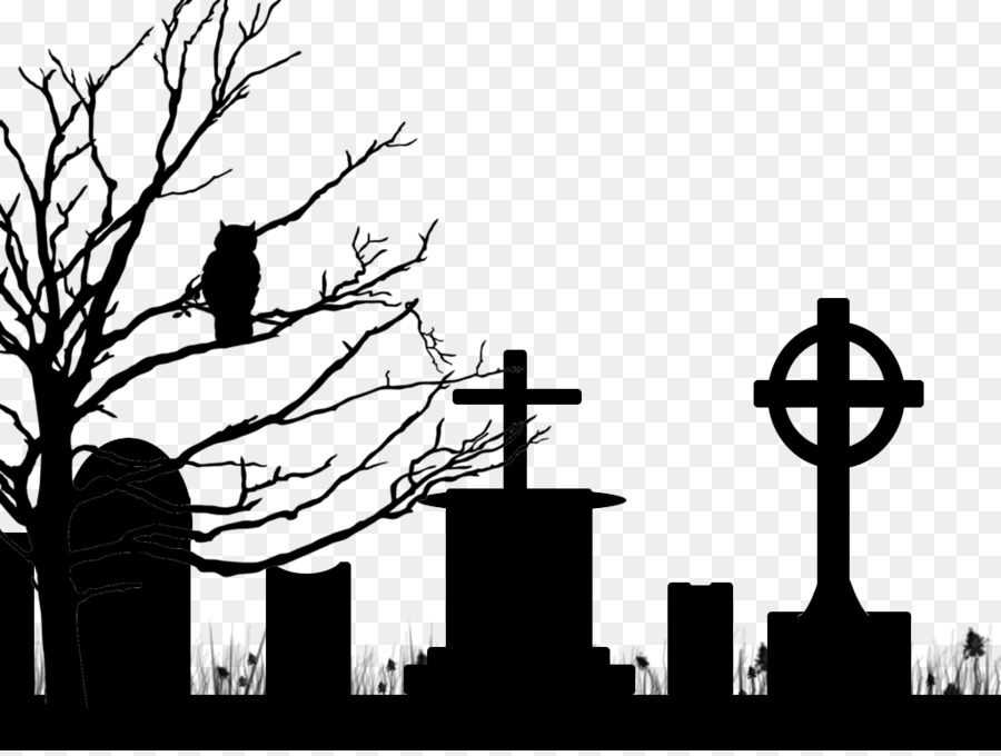Free cemetery silhouette download. Grave clipart scary