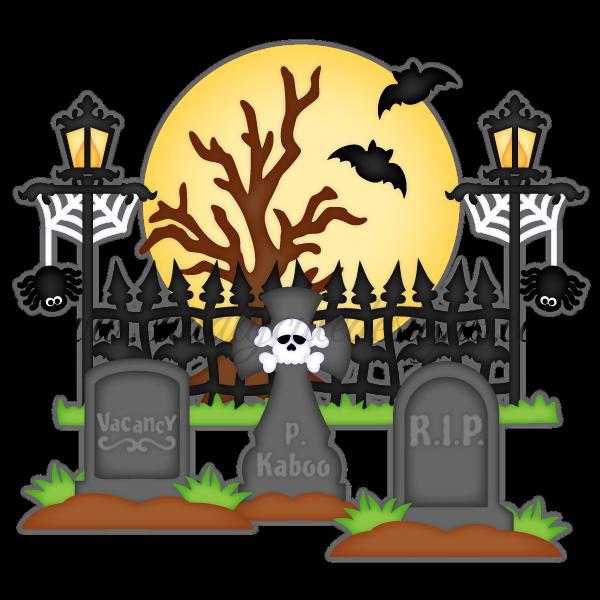 spooky clipart gravestone #143965413