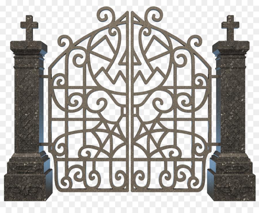 Gate grave clip art. Cemetery clipart transparent