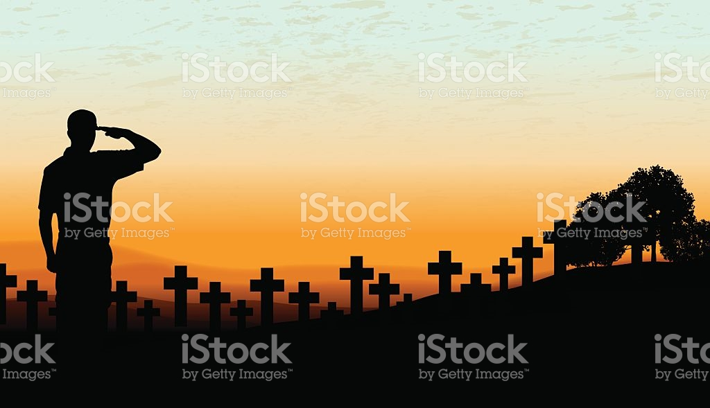 Cemetery clipart vector. Soldiers clipground us military