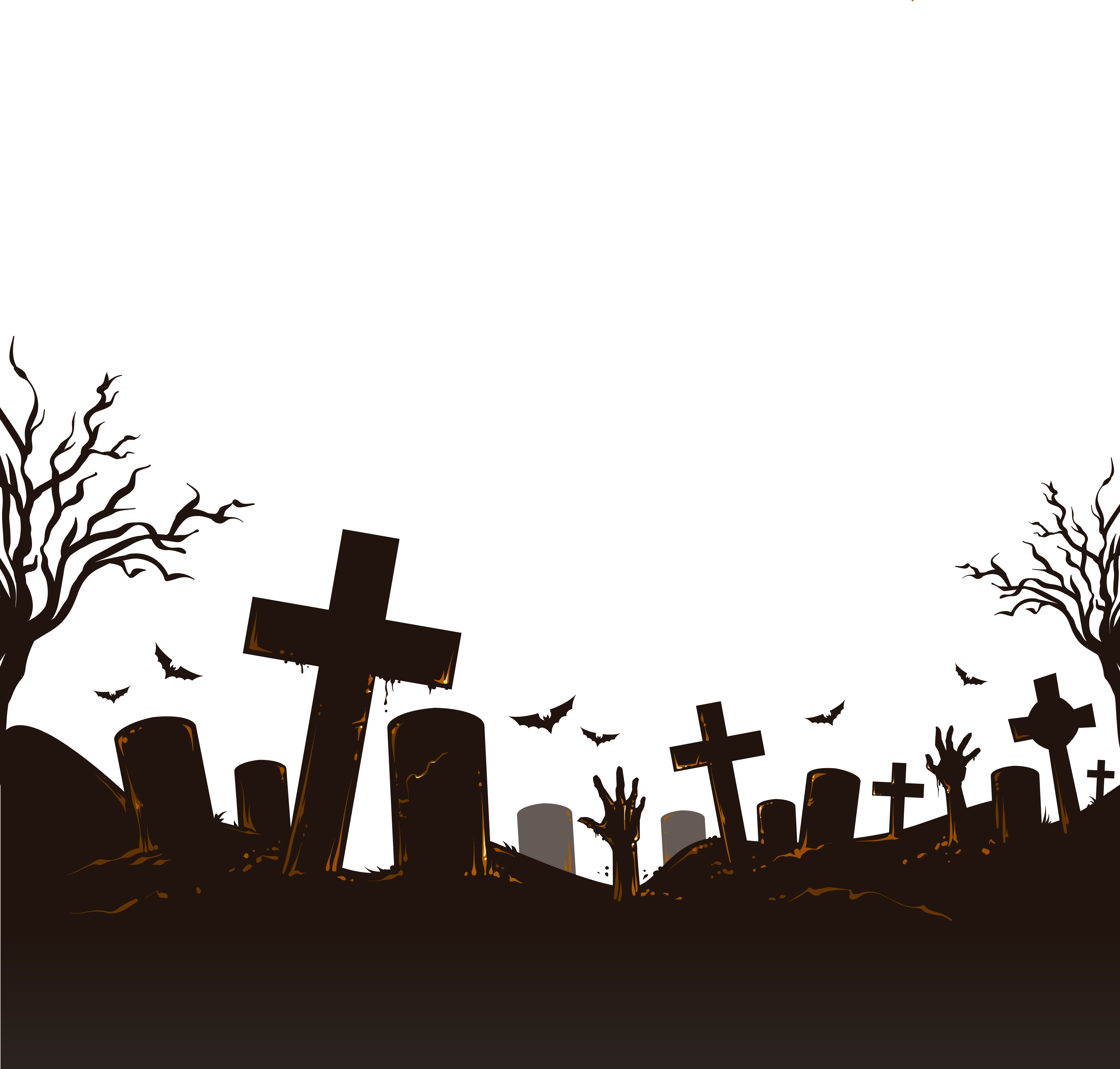 Halloween icon png download. Cemetery clipart vector