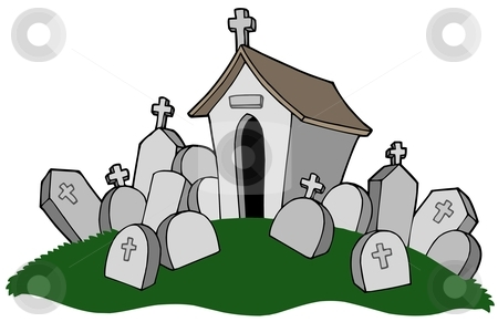 Cemetery clip art free. Graveyard clipart