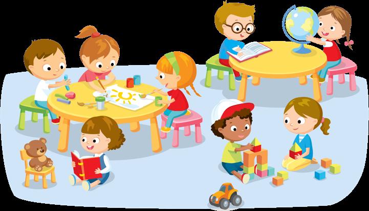 Centers clipart. Preschool station