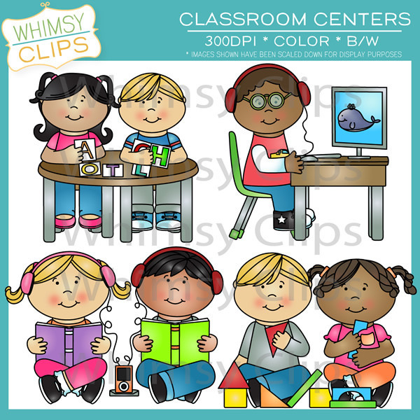 Centers clipart. Classroom panda free images