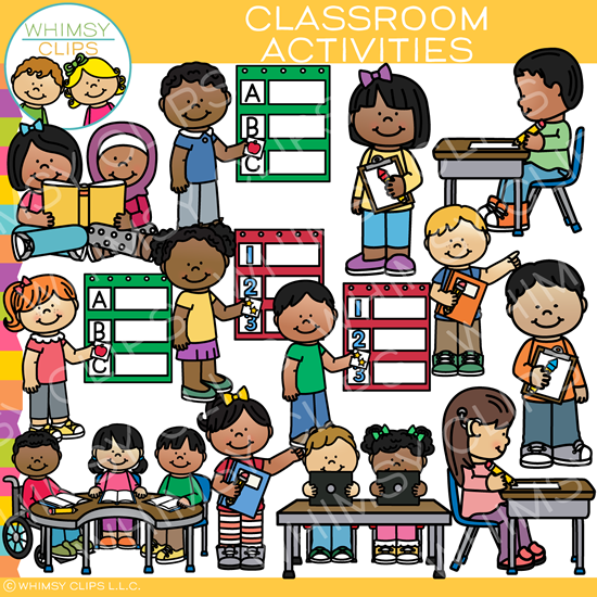 Activities clipart classroom. Centers clip art images