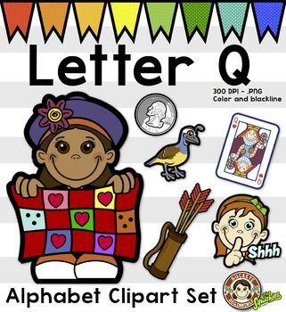 Centers clipart alphabet. Clip art letter q