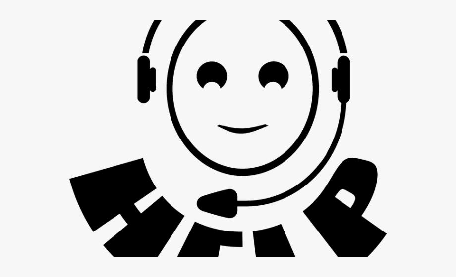 Headphones clipart student centers. Call centre