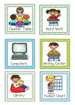 free icons. Centers clipart literacy center