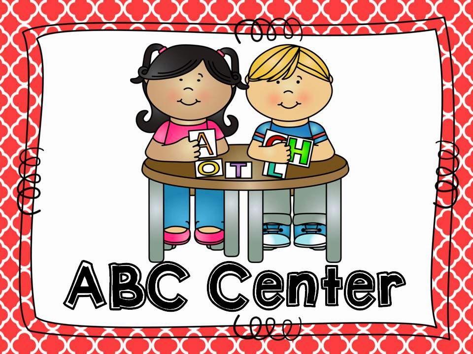 What are the other. Centers clipart literacy center