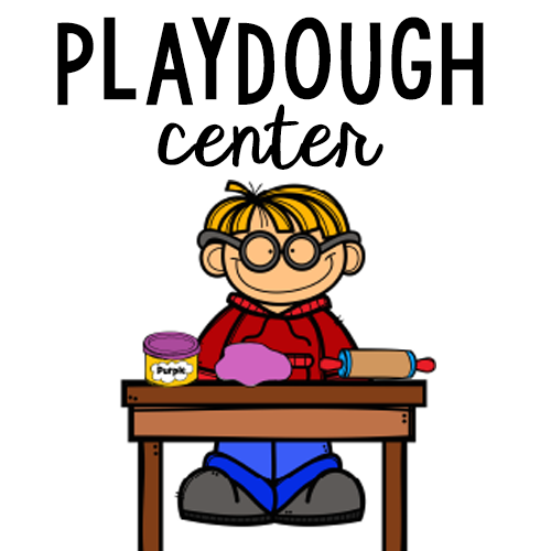 Center lovely commotion. Playdough clipart preschool