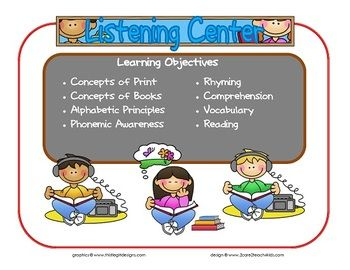 Centers clipart preschool learning.  best objectives images