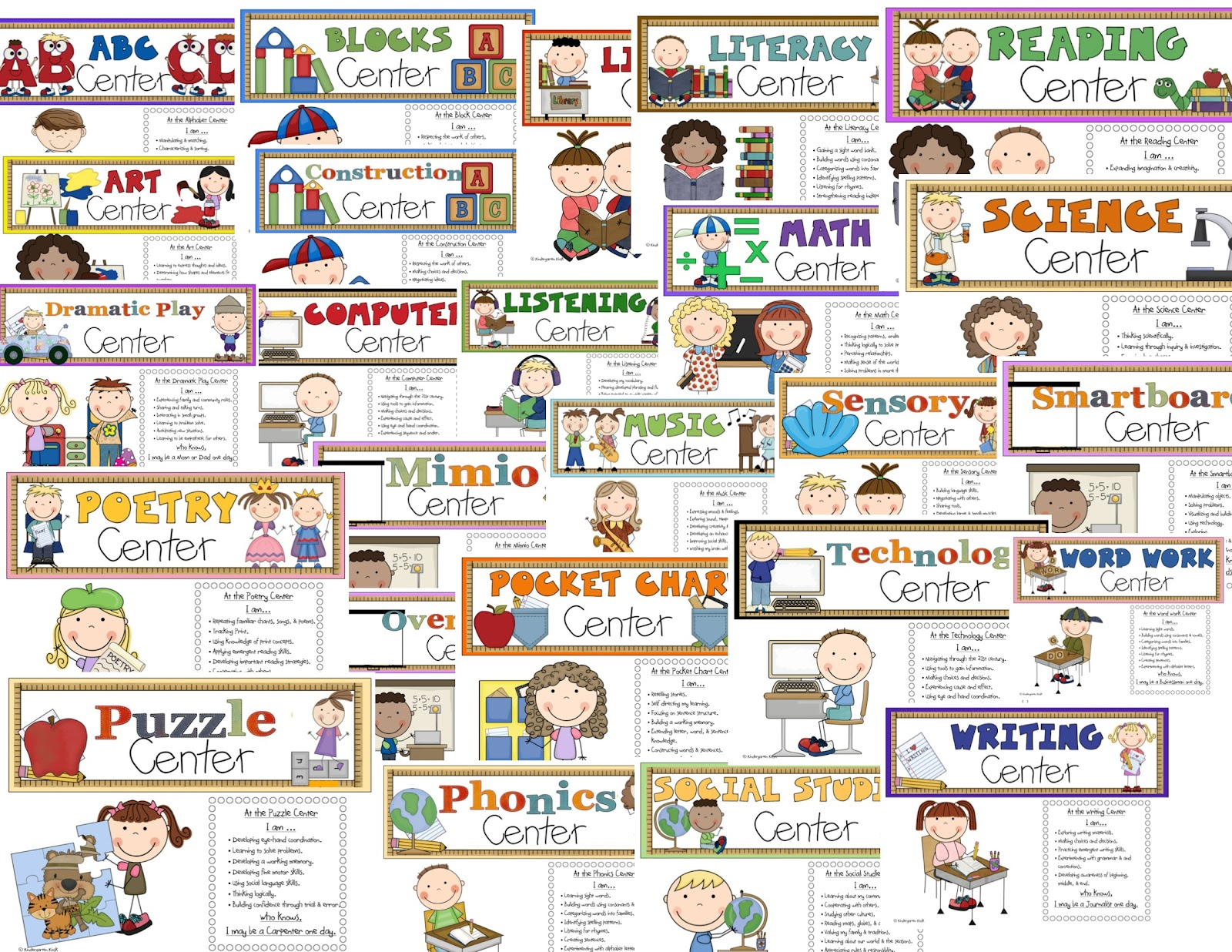Free center cliparts download. Centers clipart preschool learning