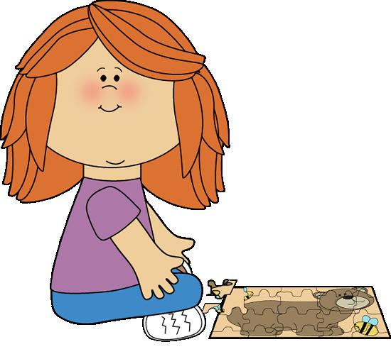 Puzzle clipart child puzzle. School kids clip art