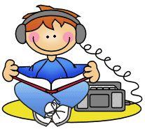 best clip art. Headphones clipart literacy center
