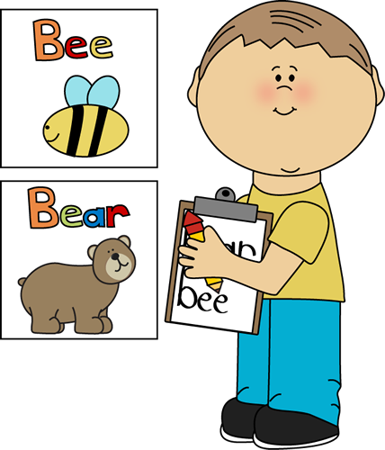 Free writing center download. Kid clipart