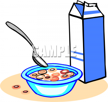 Cereal clipart. Panda free images cerealclipart