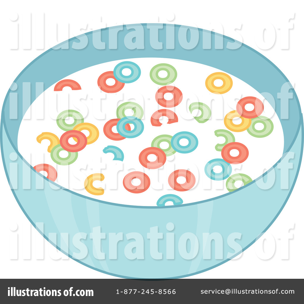Illustration by rosie piter. Cereal clipart