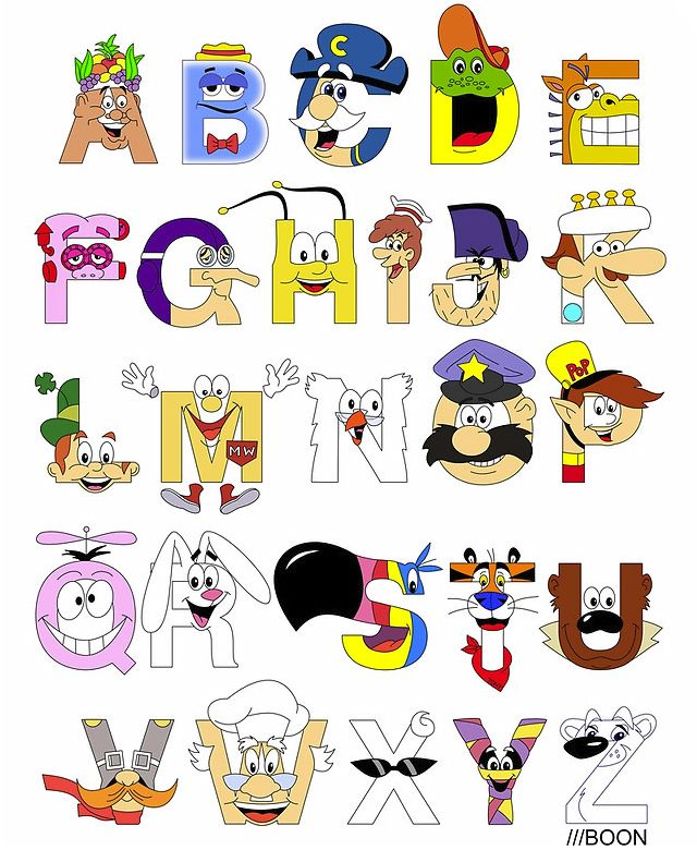 Pin on harfler . Cereal clipart alphabet soup