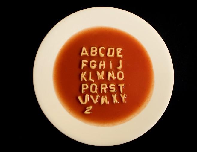 Cereal clipart alphabet soup. Donna l martin s