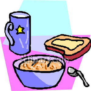 Breakfast pictures free download. Cereal clipart animated