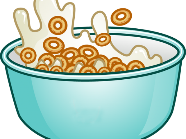 Picture of bowl free. Cereal clipart animated