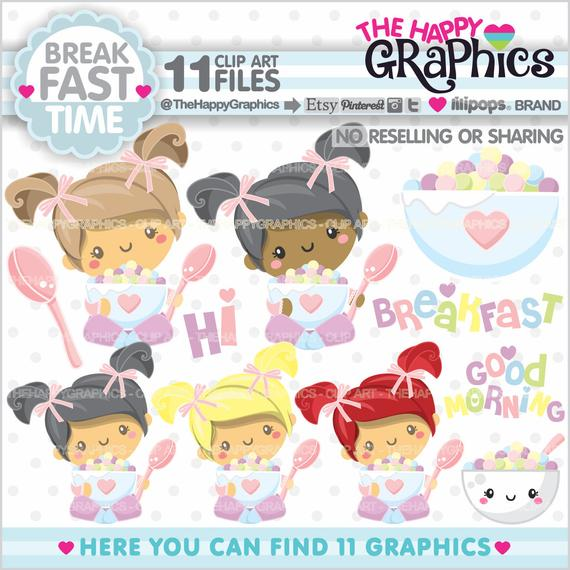 Breakfast graphic commercial use. Cereal clipart baby cereal
