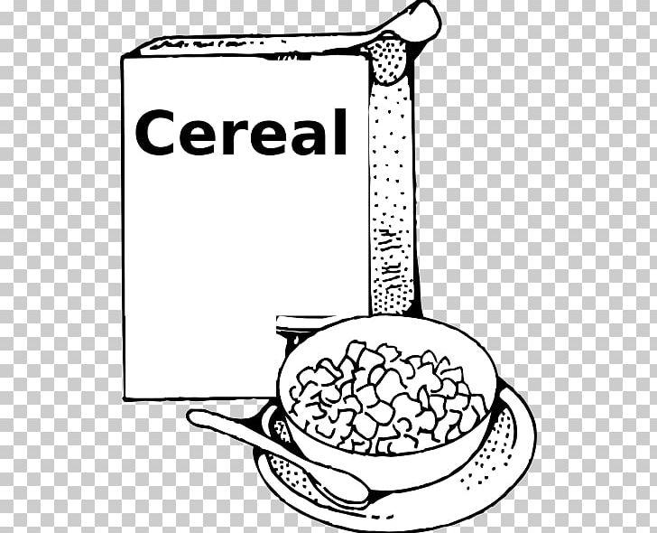 Breakfast milk porridge png. Cereal clipart black and white