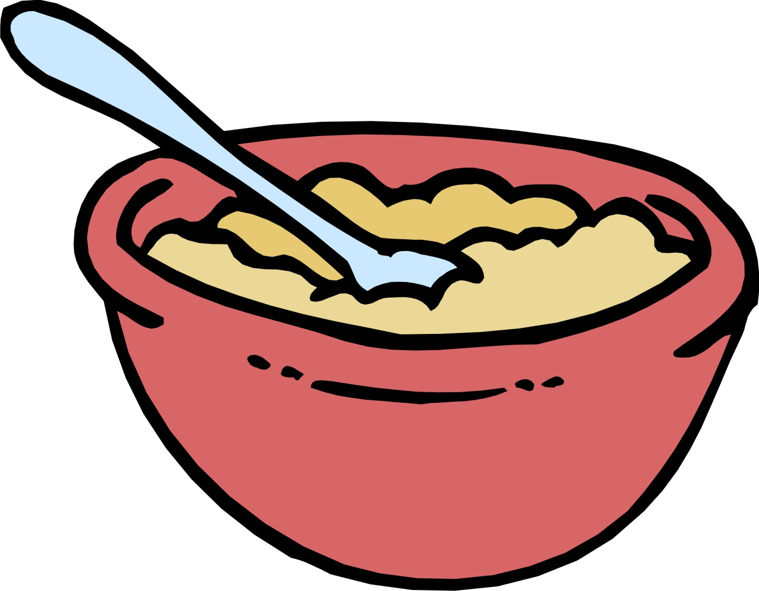 Cereal clipart bowl cereal. Clip art library