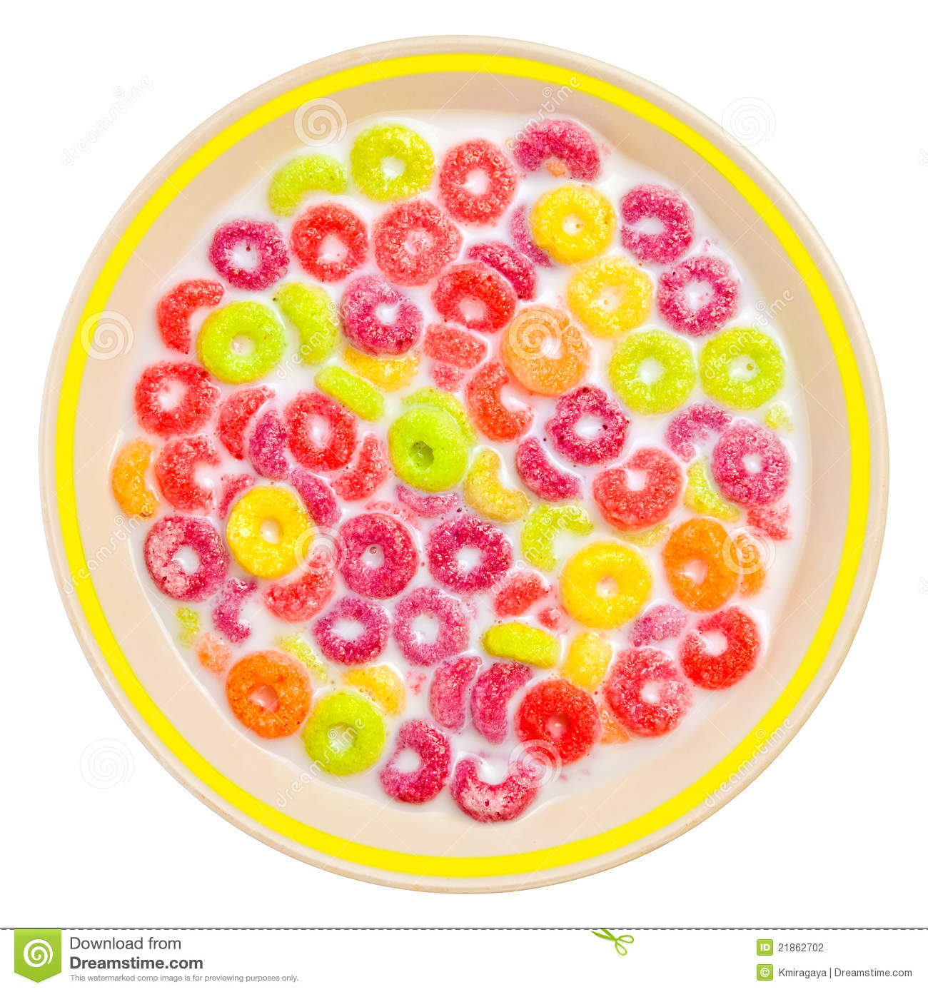 Cereal clipart bowl cereal. Colorful pencil and in