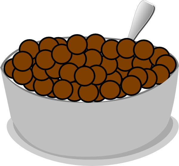 Cereal clipart bowl cereal. Spoon clip art at