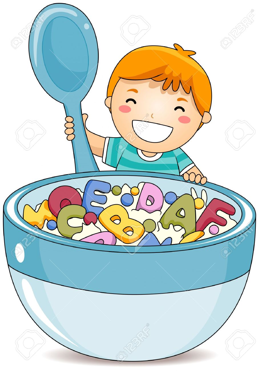 Healthy breakfast free collection. Cereal clipart bowl spoon
