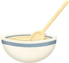 Cereal clipart bowl spoon. Download