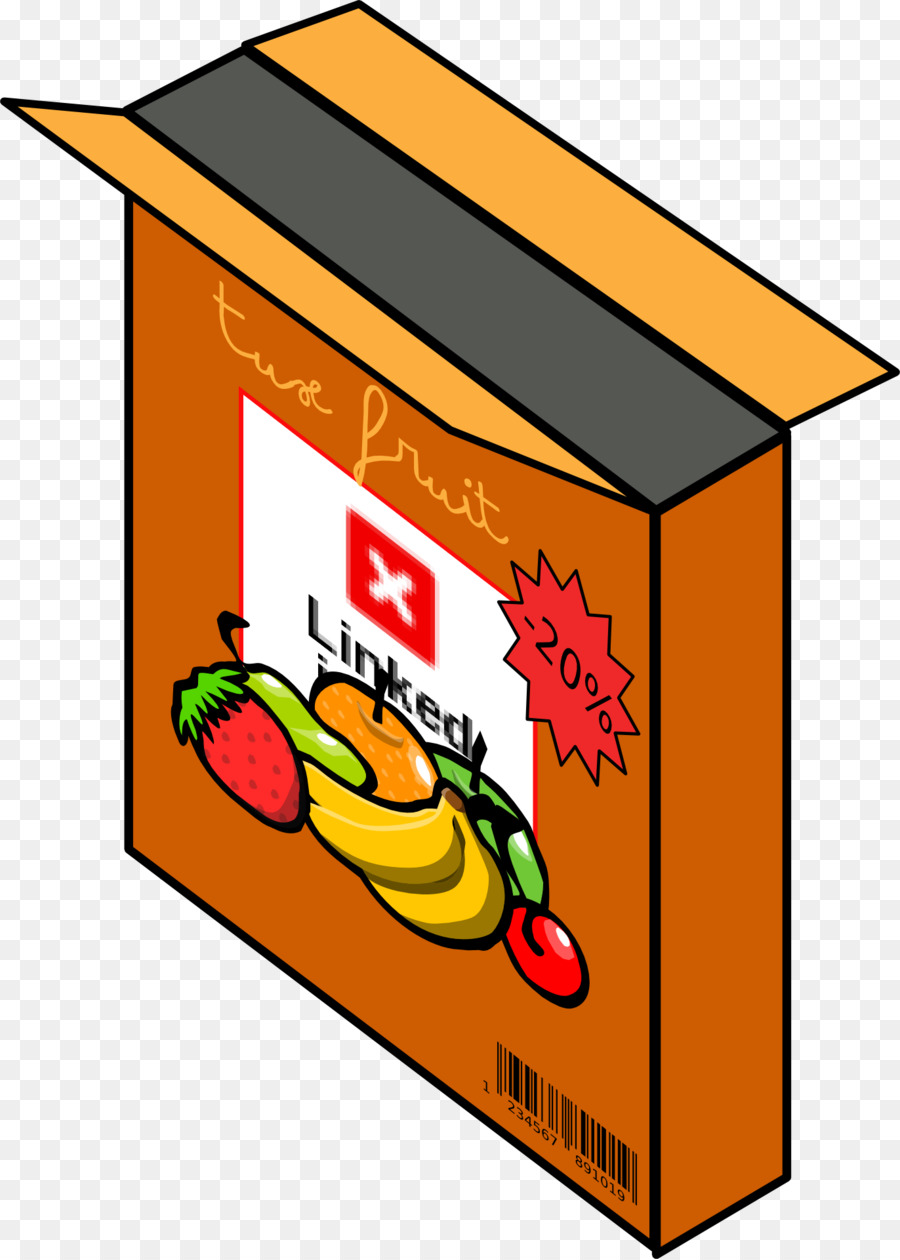 Breakfast box clip art. Cereal clipart boxed