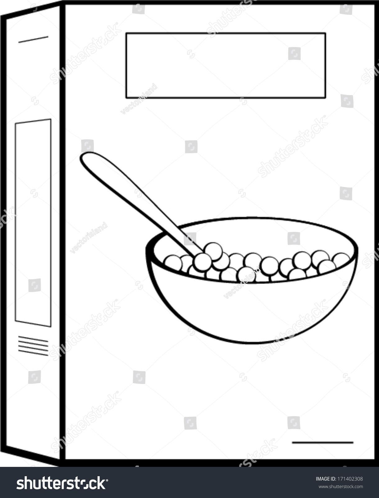 Cereal clipart boxed.  images of art