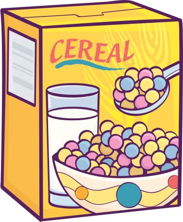 Box free download clip. Cereal clipart boxed