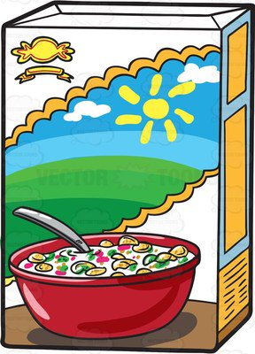 Cereal clipart boxed. Box free download clip