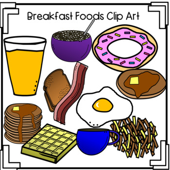 Cereal clipart breakfast food. Foods clip art pancakes