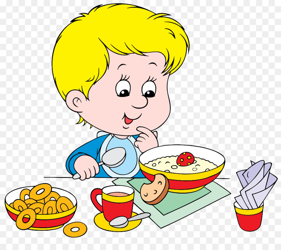 Eating clip art png. Cereal clipart breakfast time
