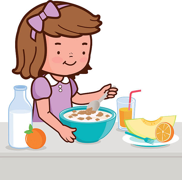 Cereal clipart breakfast time. Collection of free download