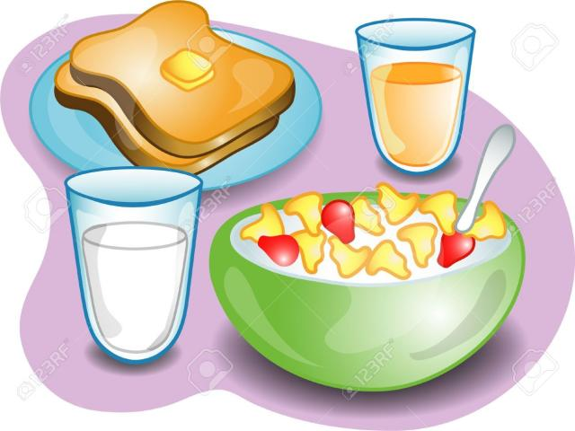 Cereal clipart breakfest. Clip cookdiary net milk