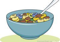 Breakfast free panda bowlofcereal. Cereal clipart breakfest