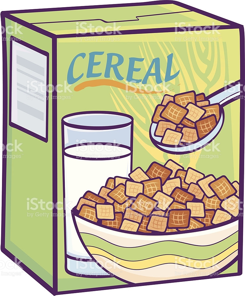 Unique gallery digital collection. Cereal clipart cereal box
