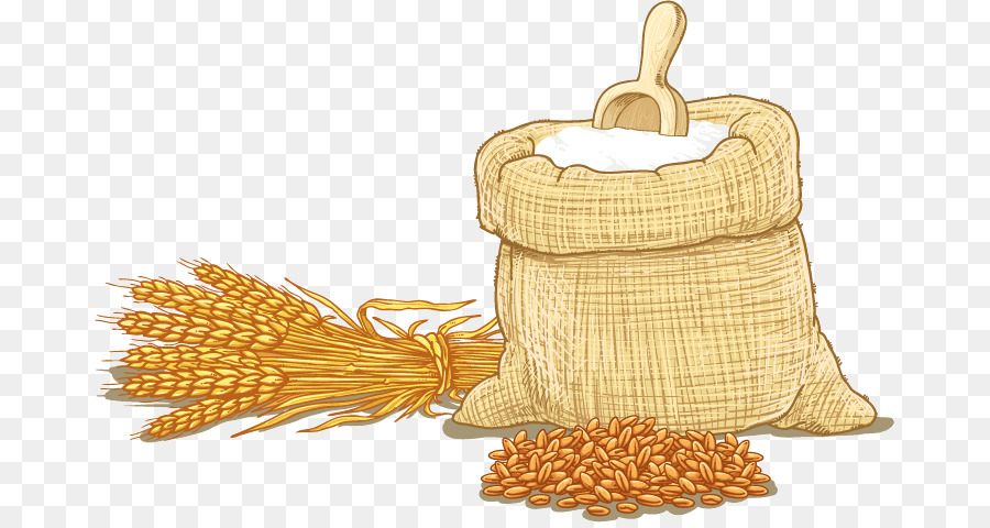 Cereal clipart cereal grain. Wheat flour clip art