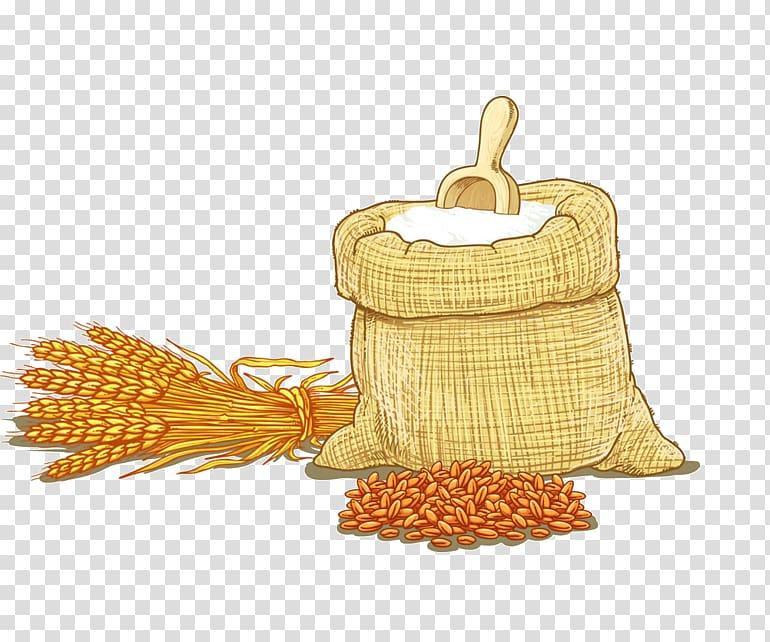 Oil clipart flour. Grains wheat cereal hand