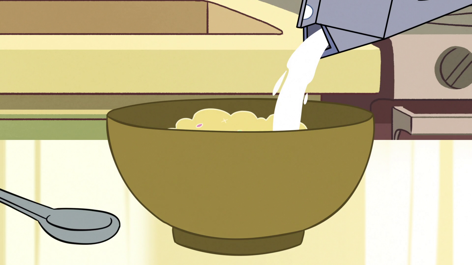Image s e pouring. Cereal clipart cereal milk